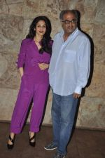Sridevi, Boney Kapoor at Ram Leela Screening in Lightbox, Mumbai on 14th Nov 2013 (539)_52862b88194fa.JPG