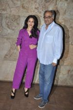 Sridevi, Boney Kapoor at Ram Leela Screening in Lightbox, Mumbai on 14th Nov 2013 (543)_52862b88c7677.JPG
