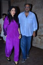Sridevi, Boney Kapoor at Ram Leela Screening in Lightbox, Mumbai on 14th Nov 2013 (801)_52862b8980098.JPG