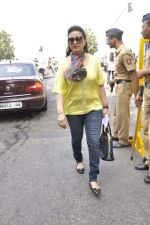 Poonam Dhillon at cricket match in Mumbai on 15th Nov 2013