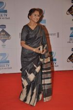 Sarita Joshi at Zee Rishtey Awards in Andheri Sports Complex, Mumbai on 16th Nov 2013 (18)_52890153af552.JPG