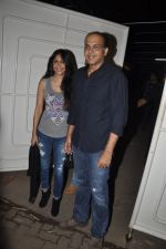 Ashutosh Gowariker, Sunita Gowariker at R Rajkumar Screening in Juhu, Mumbai on 5th Dec 2013 (62)_52a1b715f2369.JPG