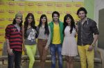 Shreyas Pardiwalla, Nicole Faria, Divya Khosla Kumar, Himansh Kohli, Rakul Preet,Dev Sharma at the Promotion of Yaariyan at 98.3 FM Radio Mirchi on 5th Dec 20 (7)_52a1b68dc4a14.JPG