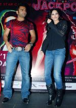 Sunny Leone, Sachiin Joshi promote Jackpot in Gurgaon on 7th Dec 2013