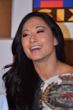 Gail Kim at TNA India tour press meet in Palladium, Mumbai on 9th Dec 2013 (21)_52a6aa896beed.JPG