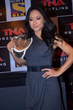 Gail Kim at TNA India tour press meet in Palladium, Mumbai on 9th Dec 2013 (32)_52a6aa8e32dbc.JPG