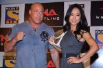 Gail Kim, Kurt Angle at TNA India tour press meet in Palladium, Mumbai on 9th Dec 2013 (79)_52a6ab986ea02.JPG