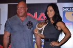 Gail Kim, Kurt Angle at TNA India tour press meet in Palladium, Mumbai on 9th Dec 2013 (65)_52a6ab46866f4.JPG