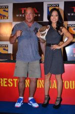Gail Kim, Kurt Angle at TNA India tour press meet in Palladium, Mumbai on 9th Dec 2013 (69)_52a6ab47e52ef.JPG