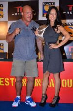 Gail Kim, Kurt Angle at TNA India tour press meet in Palladium, Mumbai on 9th Dec 2013 (75)_52a6ab4b143fc.JPG