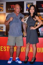 Gail Kim, Kurt Angle at TNA India tour press meet in Palladium, Mumbai on 9th Dec 2013 (77)_52a6ab4bc0790.JPG