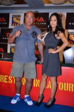 Gail Kim, Kurt Angle at TNA India tour press meet in Palladium, Mumbai on 9th Dec 2013 (80)_52a6ab4c7952e.JPG