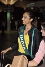 Shobhita Dhulipala Miss Earth arrives from Philippines in Mumbai Airport on 9th Dec 2013 (18)_52a6a9d140b41.JPG
