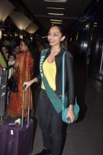 Shobhita Dhulipala Miss Earth arrives from Philippines in Mumbai Airport on 9th Dec 2013 (5)_52a6a9cb8d02e.JPG