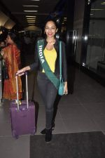 Shobhita Dhulipala Miss Earth arrives from Philippines in Mumbai Airport on 9th Dec 2013 (6)_52a6a9cc0e2d6.JPG