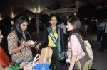 Shobhita Dhulipala Miss Earth arrives from Philippines in Mumbai Airport on 9th Dec 2013 (14)_52a6a9cfd59d3.JPG