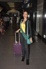 Shobhita Dhulipala Miss Earth arrives from Philippines in Mumbai Airport on 9th Dec 2013 (3)_52a6a9ca95320.JPG