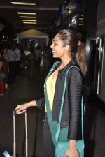 Shobhita Dhulipala Miss Earth arrives from Philippines in Mumbai Airport on 9th Dec 2013 (4)_52a6a9cb1526c.JPG
