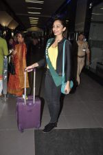 Shobhita Dhulipala Miss Earth arrives from Philippines in Mumbai Airport on 9th Dec 2013 (9)_52a6a9cd7437c.JPG