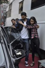Aditya Roy Kapur and Shraddha Kapoor snapped at Filmistan on 10th Dec 2013 (10)_52a8075fa16b4.JPG