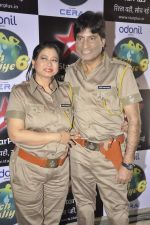 Raju Shrivastav on location of Nach Baliye 6 in Filmistan, Mumbai on 10th Dec 2013 (87)_52a8080093abd.JPG