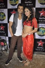 Rithvik Dhanjani, Asha Negi on location of Nach Baliye 6 in Filmistan, Mumbai on 10th Dec 2013 (97)_52a8084fccc84.JPG