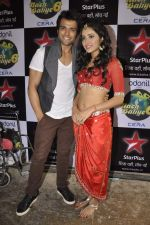 Rithvik Dhanjani, Asha Negi on location of Nach Baliye 6 in Filmistan, Mumbai on 10th Dec 2013 (98)_52a8085047478.JPG