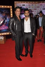 Shahrukh Khan, Sachiin Joshi at Jackpot premiere in PVR, Mumbai on 12th Dec 2013