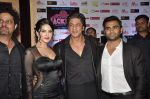 Shahrukh Khan, Sunny Leone, Sachiin Joshi at Jackpot premiere in PVR, Mumbai on 12th Dec 2013