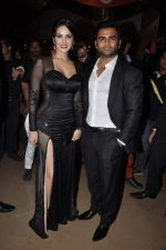 Sunny Leone, Sachiin Joshi at Jackpot premiere in PVR, Mumbai on 12th Dec 2013