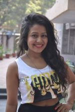 Neha Kakkar at the Music recording for Hanju in Soundbox, Mumbai on 16th Dec 2013 (5)_52aff7c30d2d4.JPG