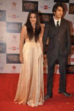 Mrinalini Sharma at Big Star Awards red carpet in Andheri, Mumbai on 18th Dec 2013 (175)_52b2d38b1c1c6.JPG