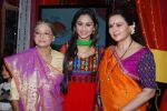 Rita Bhaduri, Krystle D_Souza, Poonam Dhillon at Sony launches Ek Thi Pehchan in Filmcity, Mumbai on 18th Dec 2013 (23)_52b2c47e56cea.JPG