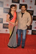 Soha ALi Khan, Arshad Warsi at Big Star Awards red carpet in Andheri, Mumbai on 18th Dec 2013 (265)_52b2d4a3c941f.JPG