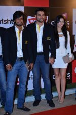 Aftab Shivdasani  at CCL new season red carpet in Grand Hyatt, Mumbai on 20th Dec 2013