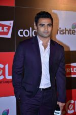 Sachiin Joshi at CCL new season red carpet in Grand Hyatt, Mumbai on 20th Dec 2013