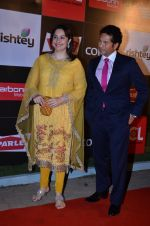 Sachin Tendulkar at CCL new season red carpet in Grand Hyatt, Mumbai on 20th Dec 2013