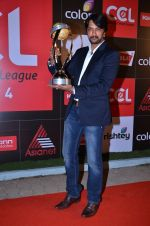Sudeep at CCL new season red carpet in Grand Hyatt, Mumbai on 20th Dec 2013 (116)_52b5464b8c9cd.JPG