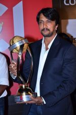Sudeep at CCL new season red carpet in Grand Hyatt, Mumbai on 20th Dec 2013 (119)_52b5464c50b37.JPG