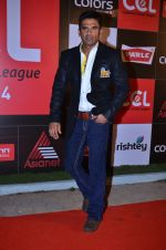 Sunil Shetty at CCL new season red carpet in Grand Hyatt, Mumbai on 20th Dec 2013