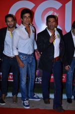 Sunil Shetty, Sonu Sood at CCL new season red carpet in Grand Hyatt, Mumbai on 20th Dec 2013