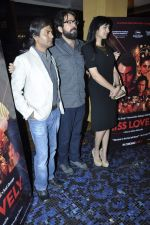 Nawazuddin Siddiqui, Ashim Ahluwalia, Niharika Singh at the Promotion of film Miss Lovely in Aurus, Mumbai on 23rd Dec 2013 (24)_52b9723b546b3.JPG