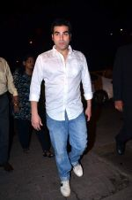 Arbaaz Khan at the midnight mass in Mumbai on 24th Dec 2013