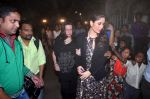 Kareena Kapoor, babita Kapoor at the midnight mass in Mumbai on 24th Dec 2013
