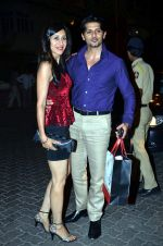 Teejay Sidhu, Karanvir Bohra at the midnight mass in Mumbai on 24th Dec 2013