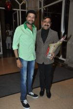 Makarand Anaspure at Bharat jadhav entertainment company launch in Mumbai on 29th Dec 2013 (23)_52c14faf6d1a4.JPG