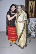 Archana Joglekar, Asha Joglekar at the Launch of Asha Joglekar_s dance academy Archana Nrityalaya in Mumbai on 30th Dec 2013 (35)_52c2643281324.JPG