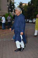 Javed Akhtar at Farooq Shaikh_s prayer meet in Mumbai on 30th Dec 2013(221)_52c26659a94ee.JPG