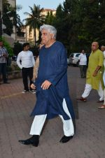 Javed Akhtar at Farooq Shaikh_s prayer meet in Mumbai on 30th Dec 2013(222)_52c2665a1726d.JPG