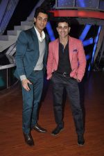 Karan Wahi at Nach Baliye new year_s celeberations in Mumbai on 30th Dec 2013 (33)_52c26772037b4.JPG